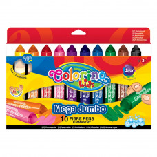 Фломастеры Colorino Mega Jumbo 10 цветов (32124PTR)