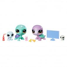Набор игрушечный Littlest Pet Shop Семья черепах (B9346/E1013)