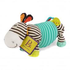Развивающая игрушка Battat Зебра-тянубра со звуковым эффектом (BX1534GTZ)