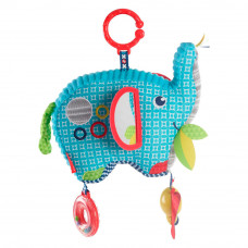 Мягкая игрушка-подвеска Fisher-Price Слоненок (FDC58)