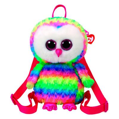 Рюкзак TY Gear Разноцветная сова Owen (95003)