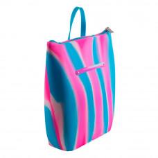 Рюкзак Tinto Zipline силиконовый сине-розовый (ZP11.18)