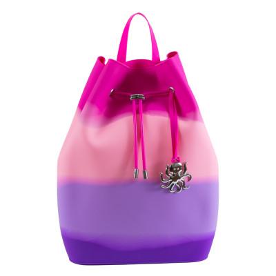 Рюкзак Tinto Zipline силиконовый сиренево-розовый (ZP11.49)