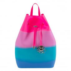 Рюкзак Tinto Zipline силиконовый розово-голубой (ZP11.50)