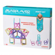 Конструктор Magplayer магнитный 41 элемент (MPH2-41)