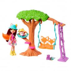 Набор Enchantimals Игровая площадка для Лисички Фелисити и Флика (FRH44/FRH45)