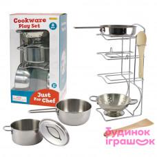Набор кухонной посуды Champion с нержавеющей стали 8 единиц (CH21038)