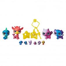 Игрушечный набор Littlest Pet Shop Маленький Зоомагазин Космическая коллекция (E2130)