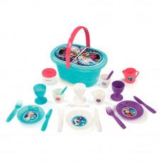 Набор посуды Smoby Frozen с набором для пикника (310578)