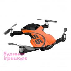 Дрон Wingsland S6 GPS 4K карманный оранжевый (6381691)