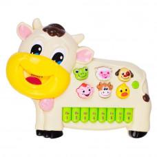 Развивающая игрушка Bebelino Музыкальная коровка со световым эффектом (58089)