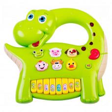 Развивающая игрушка Bebelino Музыкальный динозавр со световым эффектом (58090)