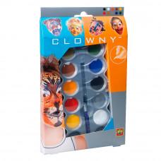 Аквагрим SES Красочный настроение 10 красок и кисточка (09694S)