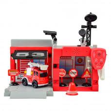 Игрушечный набор Shantou Jinxing Паркинг Пожарная станция (MY2201)