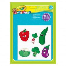Набор стикеров Crayola Овощи и фрукты (81-2010)