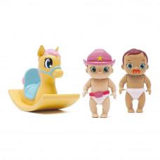 Игровой набор Baby Secrets Пупсы с коньком-каталкой (77022)