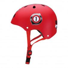 Шлем защитный Globber Гонки красный (500-002)