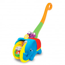 Игрушка-каталка Kiddieland Слон-циркач укр (058297)