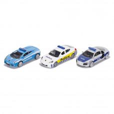Набор полицейских машин Siku (6302)