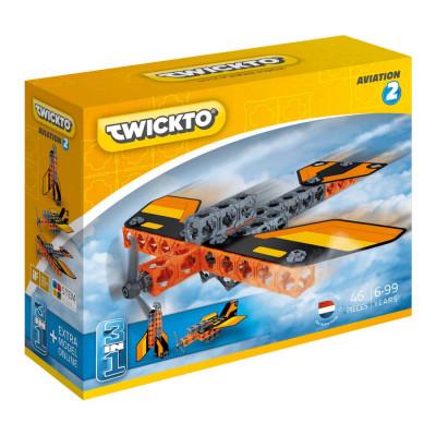 Конструктор Twickto Aviation 2 Аэроплан-истребитель (6413965)