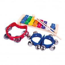 Набор музыкальных инструментов Bino (86589)