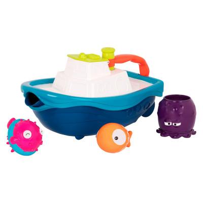 Игровой набор  для ванны Battat Кораблик буль (BX1520Z)