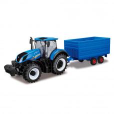 Автомодель Bburago Farm Трактор New Holland (18-44067)