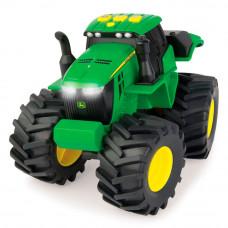 Машинка Tomy John Deere Monster treads Трактор со звуковыми и световыми эффектами (46656)