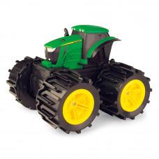 Машинка Tomy John Deere Monster treads Трактор с большими колесами (46645)