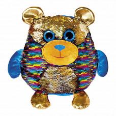 Мягкая игрушка Fancy Мишка Джорджио с пайетками 28 см (MOG01)
