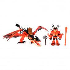 Набор Dragons Как приручить дракона 3 Кривоклык и всадник Сморкал (SM66621/7328)