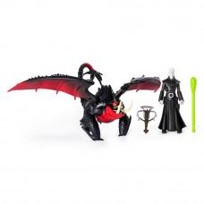Набор Dragons Как приручить дракона 3 Мертвая хватка и всадник Гриммель (SM66621/7359)