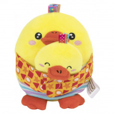 Мягкая игрушка с прорезывателем Baby Team Зверюшки 2 в 1 Цыплёнок (8536/2)