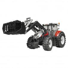 Игрушка Bruder Agriculture Трактор Steyr 6300 Terrus с погрузчиком 1:16 (03181)