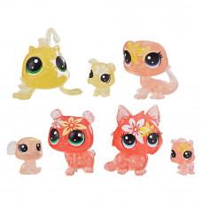 Набор Littlest Pet Shop Petal Party Лилия Зверюшки Цветочки (E5149/Е5164)