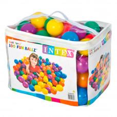 Набор для сухого бассейна Intex Веселые мячи пластик (49600NP)