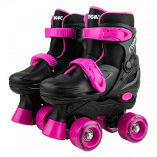 Роликовые коньки Stiga Twirler розовые 30-33 (80-2057-04)