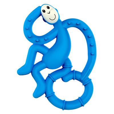 Прорезыватель Matchstick Monkey Маленькая обезьянка синий (MM-МMT-002)