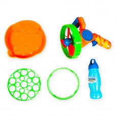 Мыльные пузыри Wanna Bubbles Бластер 2 в 1 оранжевый (BB014-2)