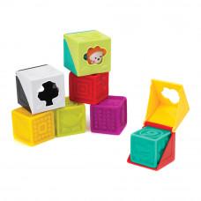 Набор текстурных блоков B kids Soft peek (003659B)