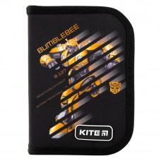 Пенал Kite Bumblebee 1 отделение 2 отворота с наполнением 622 TF-2 (TF19-622H-2)