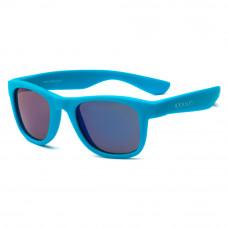 Солнцезащитные очки Koolsun Wave неоново-голубые до 5 лет (KS-WANB001)