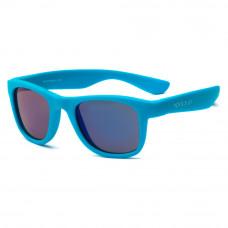 Солнцезащитные очки Koolsun Wave неоново-голубые до 10 лет (KS-WANB003)