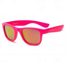 Солнцезащитные очки Koolsun Wave неоново-розовые до 10 лет (KS-WANP003)