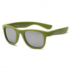 Солнцезащитные очки Koolsun Wave цвета хаки до 5 лет (KS-WAOB001)