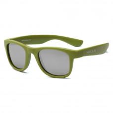 Солнцезащитные очки Koolsun Wave цвета хаки до 10 лет (KS-WAOB003)