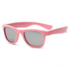 Солнцезащитные очки Koolsun Wave нежно-розовые до 10 лет (KS-WAPS003)