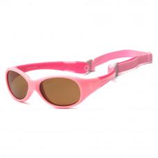 Солнцезащитные очки Koolsun Flex розовые до 3 лет (KS-FLPS000)