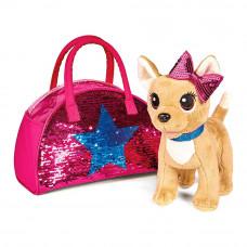 Мягкая игрушка Chi Chi Love Чихуахуа Звезда с паетками 20 см (5893351)