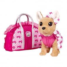 Мягкая игрушка Chi Chi Love Чихуахуа Розовая мода 20 см (5893346)